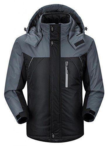 0b273638318 SALE PRICE -  61.99 - Ubon Men's Waterproof Windproof Fleece Ski Jacket  Outdoor Insulated Snow Jacket