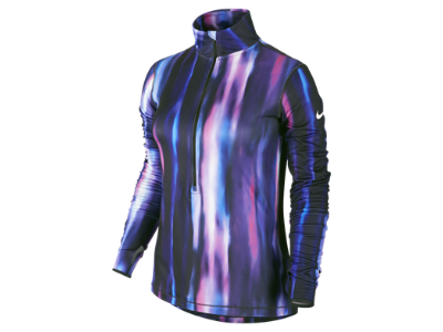 Nike Pro Hyperwarm Aurora Half Zip Fitted Women's Shirt