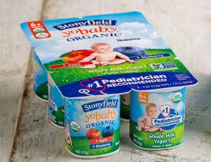 When Can Babies Eat Yogurt Baby Eating Healthy Baby Food Organic Yogurt
