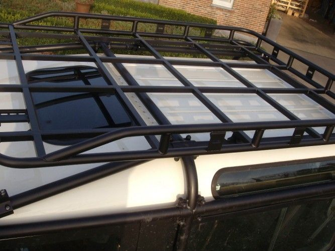 Safety Devices Expedition Products Expedition Roll Cage Roof Rack Defender 110