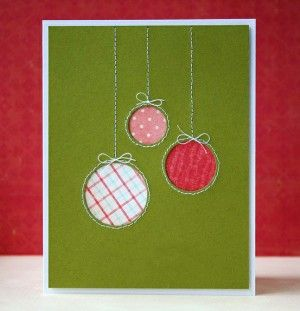Tarjeta De Navidad Con Esferas Navidad Pinterest Esferas - Tarjeta-navidea-original