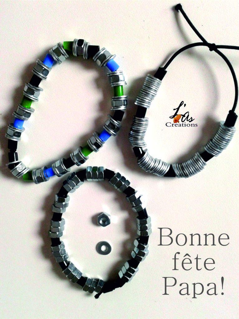 bracelet pour la f te des p res bijoux f te des p res. Black Bedroom Furniture Sets. Home Design Ideas
