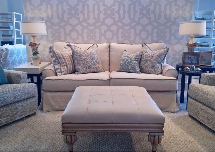 Amazing Quatrine   Dallas. Veranda Sofa And New Indies Ottoman