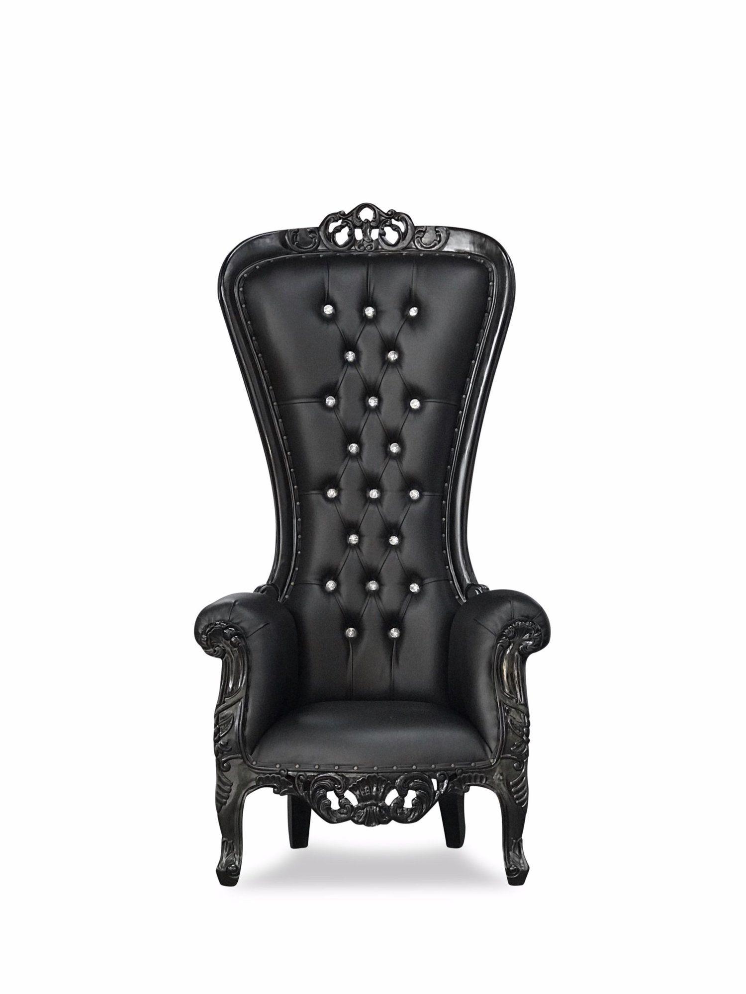 """72"""" Modesta Throne Paris themed room, Throne chair"""