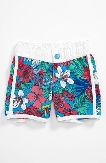 705320e63f Pumpkin Patch Tropical Print Shorts (Infant) | Nordstrom | VAᏝERIE ...