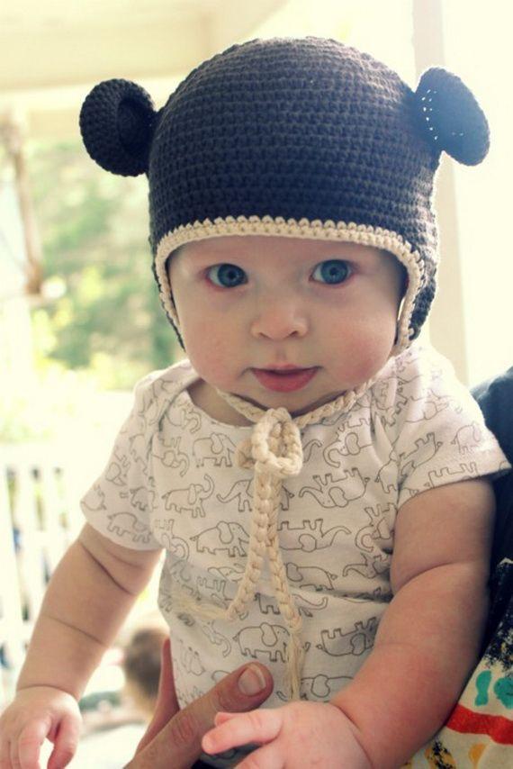 Sombreros con orejas para bebes   Nursery ideas   Pinterest   Para ...