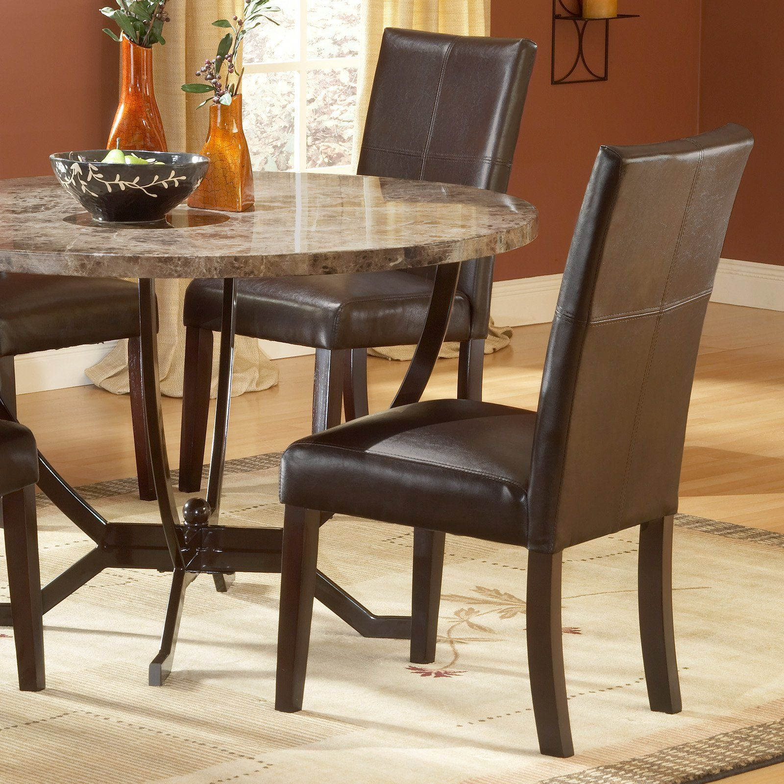 Hillsdale monaco side parson chair set of products