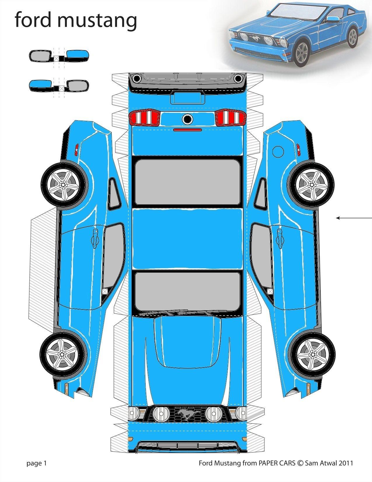 paper cars template - Emayti australianuniversities co