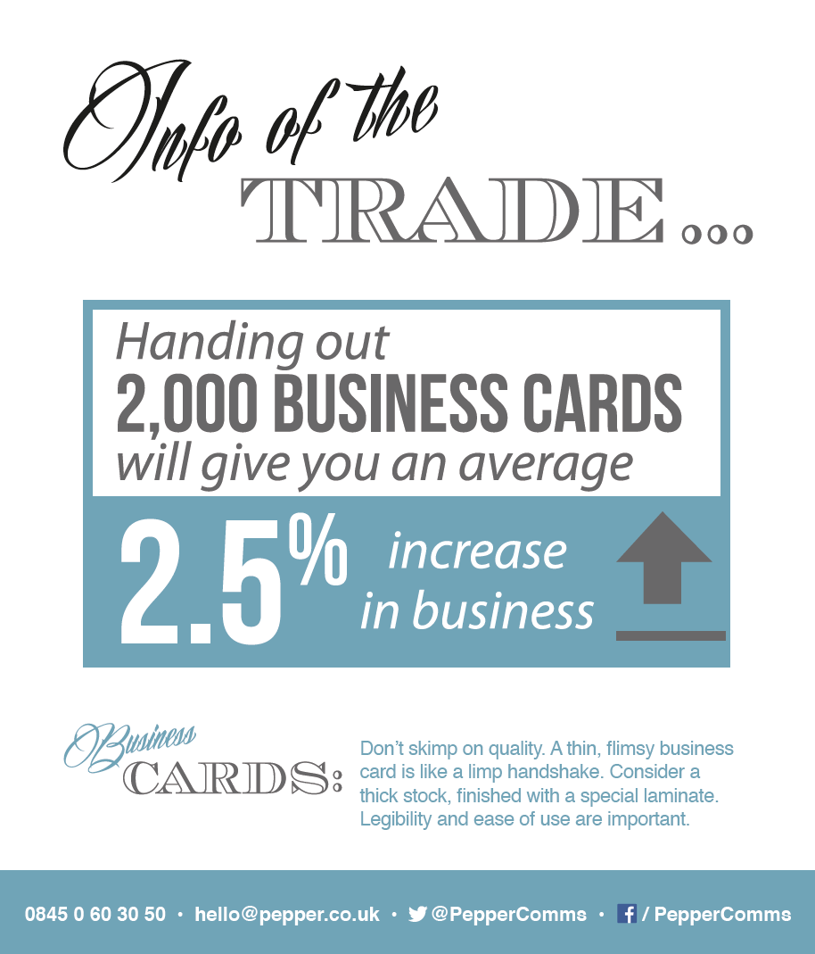 Tips of the Trade - increase your business connections with great ...
