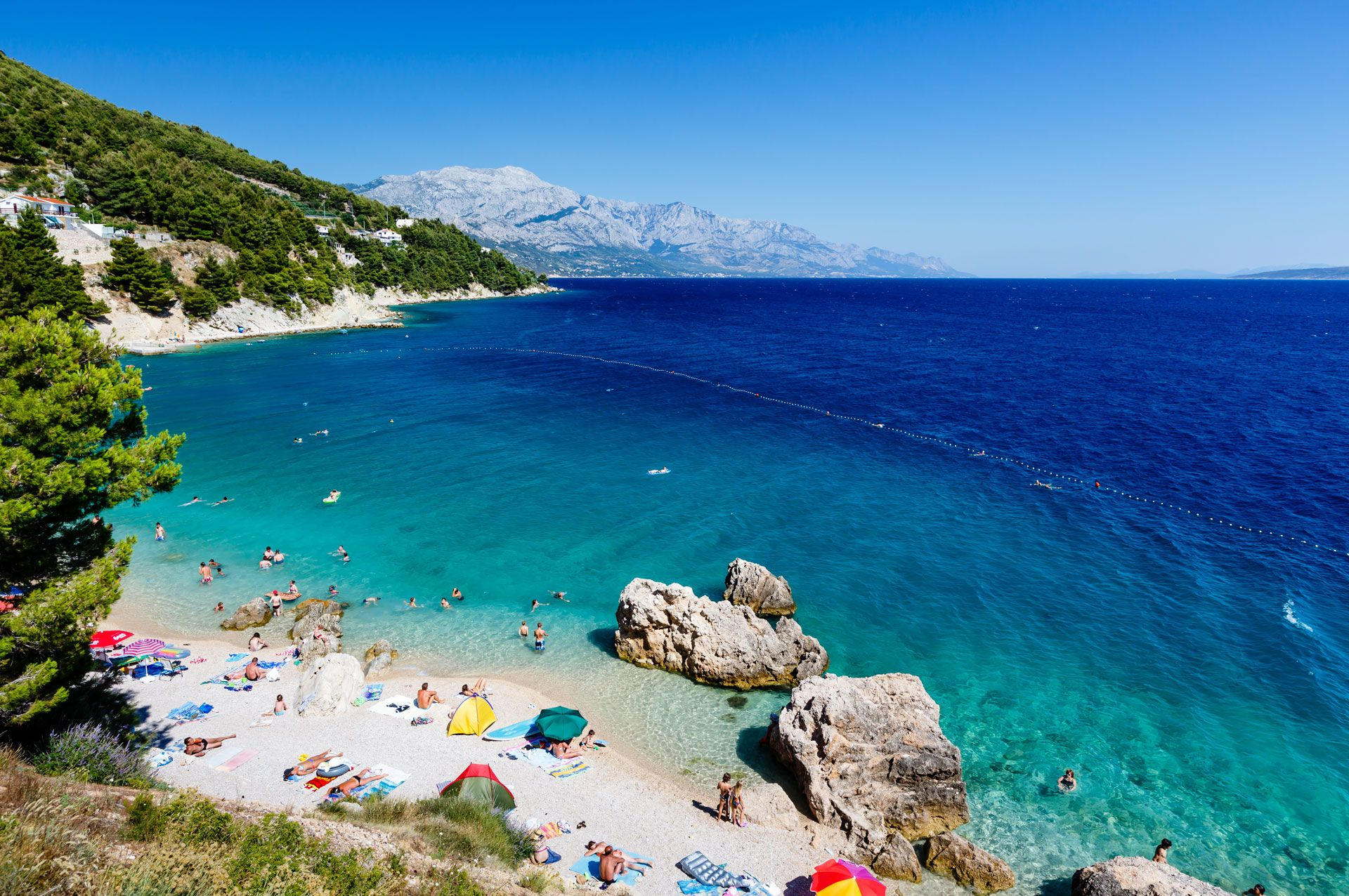 Croatia's dramatic Dalmatian Coast is home to thousands of