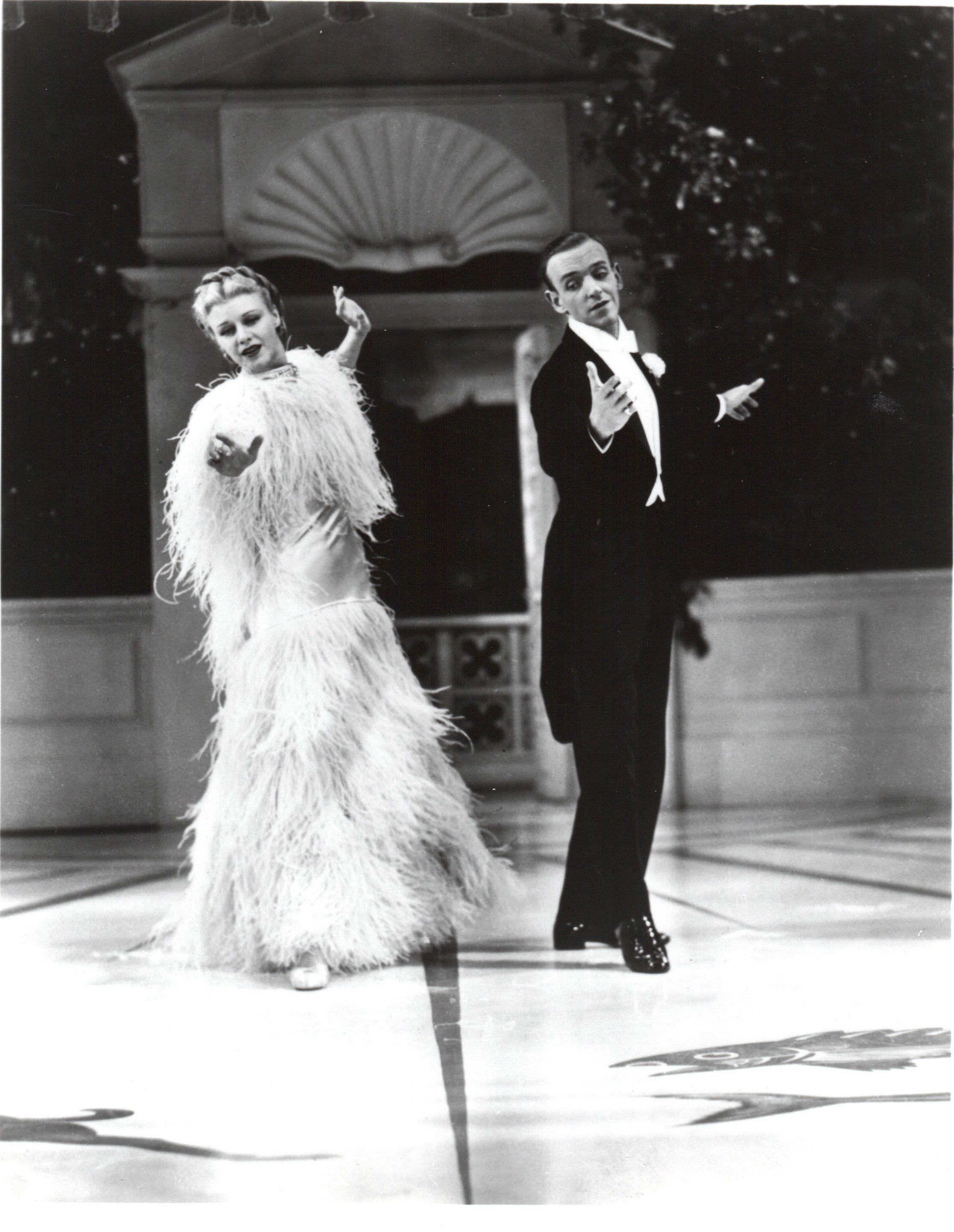 Ginger Rogers Top Hat 1935 The lovely feather dress that