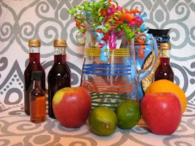 sangria gift basket & sangria gift basket | Gift Ideas | Starter kit Diy gift baskets Kit