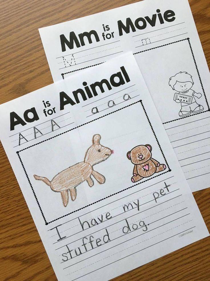 Alphabet Countdown Ideas Simply kinder, Montessori