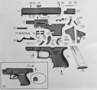 8mm Blank Firing Glock 26 Pistol   Airsoft Store UK   Guns   Glock