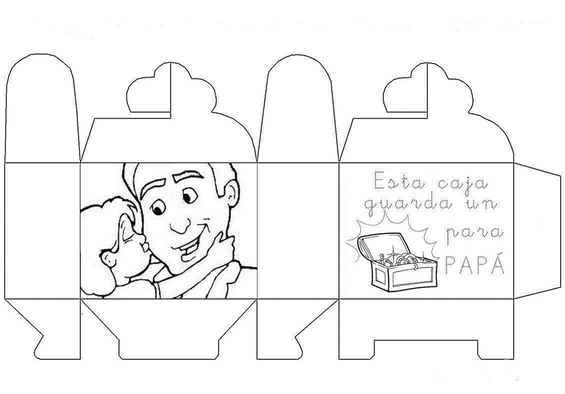 Material educativo para maestros: Manualidades para el Día del Padre ...