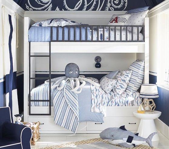Photo of Kids Nautical Bedroom | Boys Nautical Bedding & Room Decor