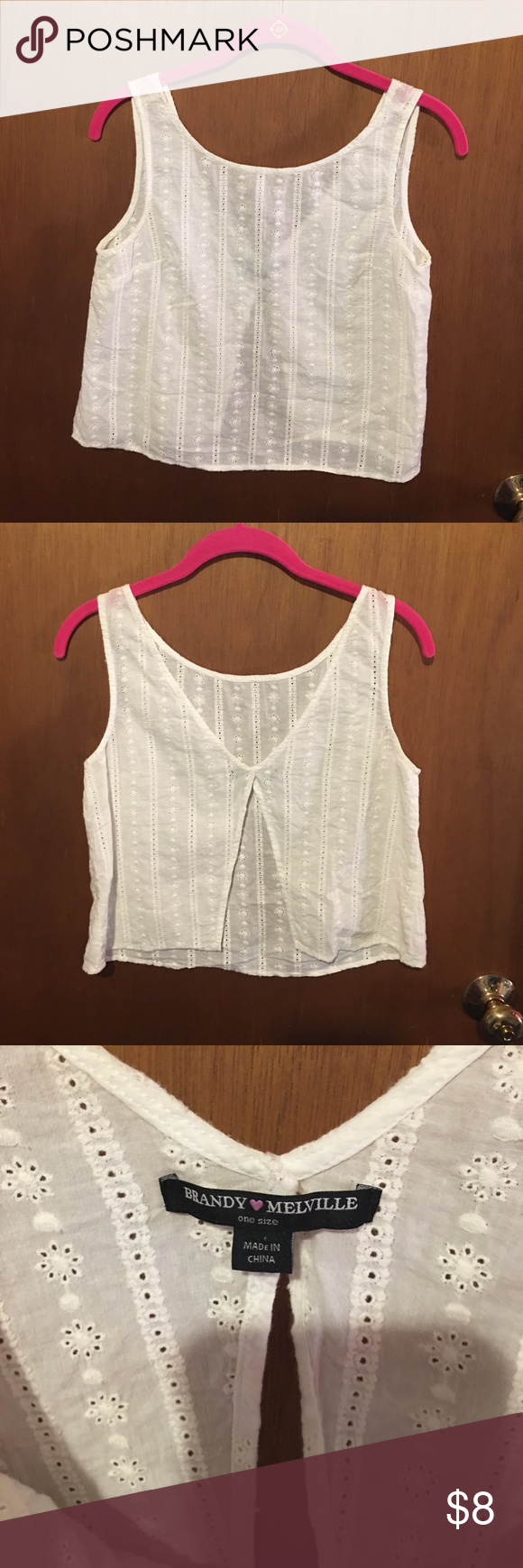 Brandy Melville top Good condition. Bundle to save ☺ Brandy Melville Tops Tank Tops