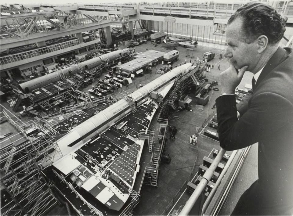 Overseeing The Building of Concorde ~ In The U.K.