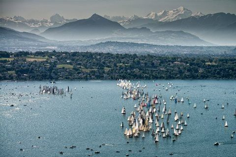Lac Leman, Geneva, Switzerland