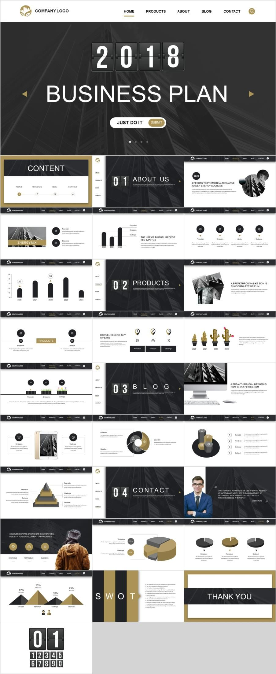 29 best business plan powerpoint templates is it projects