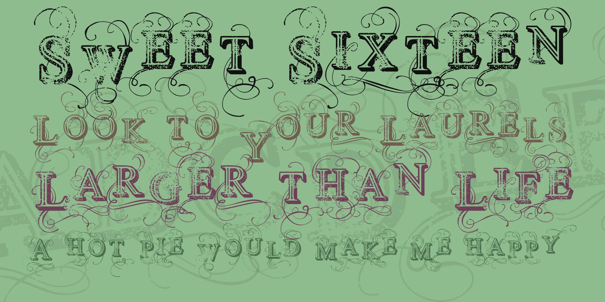 Vtks Simplex Beauty 2 Font 1001 Fonts