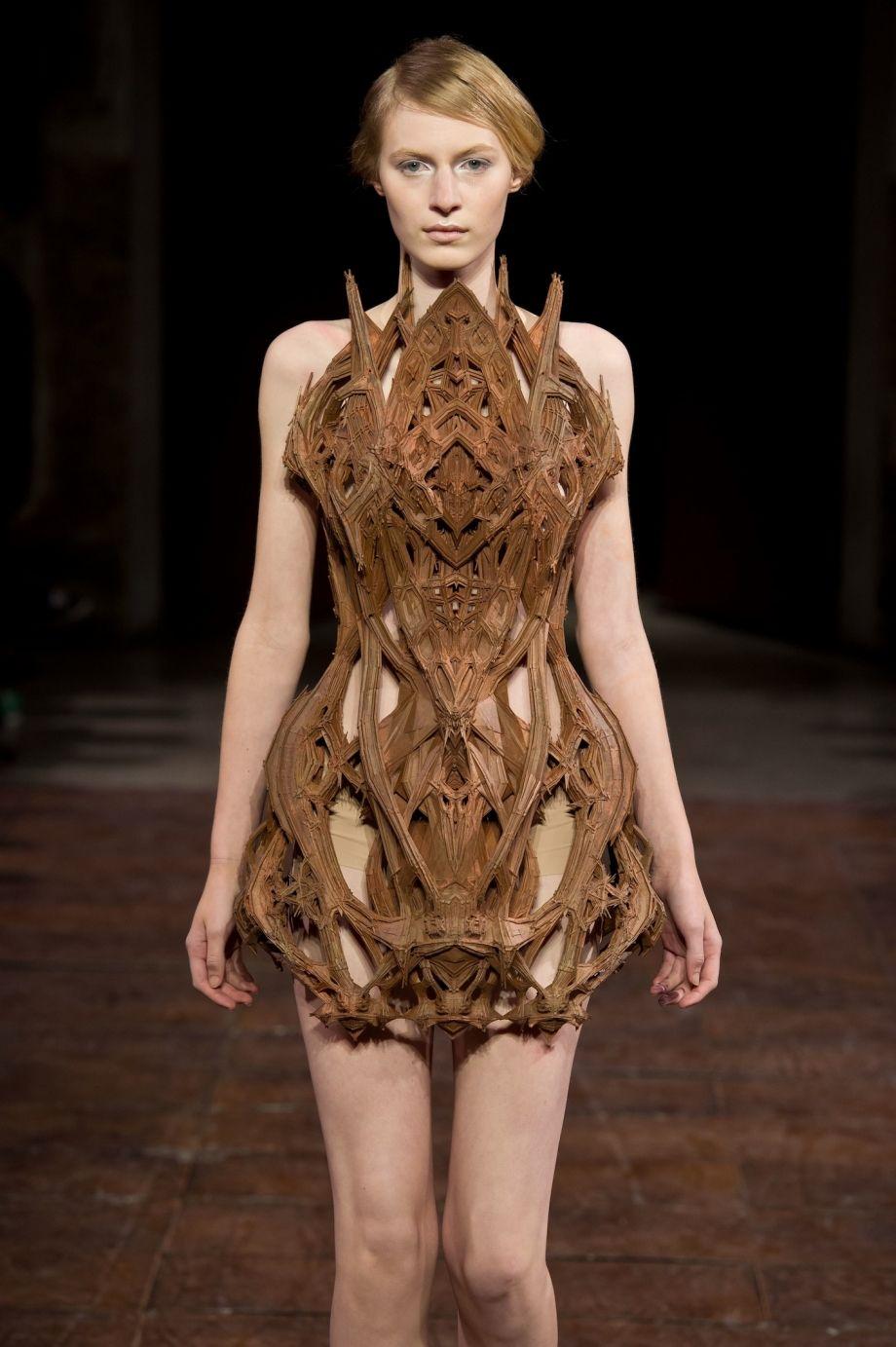 Iris van herpen micro dress images