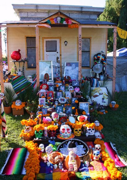 Day of the Dead Decorations & Supplies - Day of the Dead Skulls ...