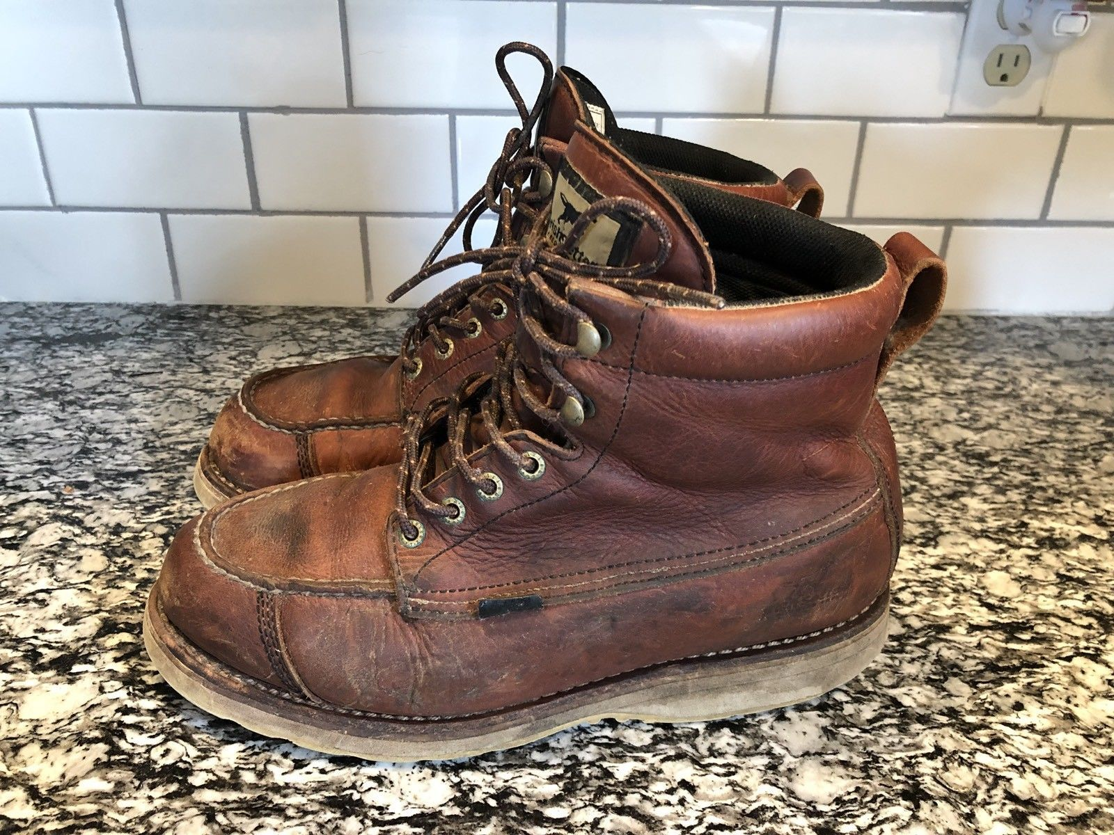 a98bd9ebec9 Men's Irish Setter Red Wing Shoes 838 WINGSHOOTER Leather Boots Size ...