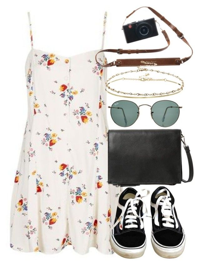 """""""Untitled #5534"""" by rachellouisewilliamson on Polyvore featuring Topshop, Vans, Violeta by Mango, Ray-Ban and ASOS"""