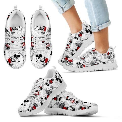 Mickey Mouse Sneakers V10   Hello kitty