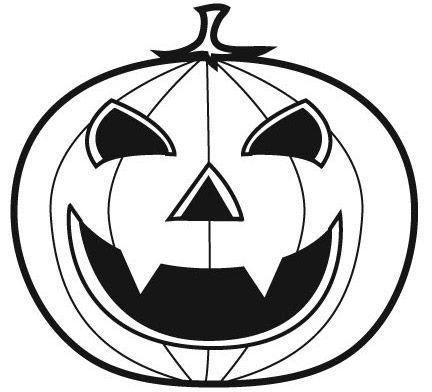 halloween ausmalbilder kürbis 06 | Projects to Try | Pinterest ...