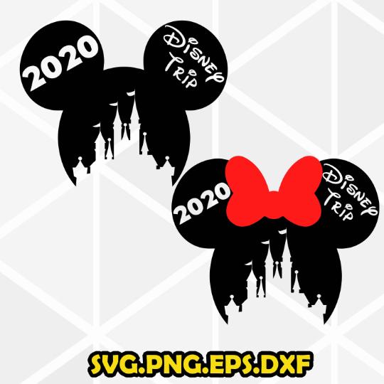Iron on Transfer Clipart Disney Family 2019 Vacation SVG  Disney Trip  Mickey Family Trip SVG  Disney T-shirt design Cricut Silhouette