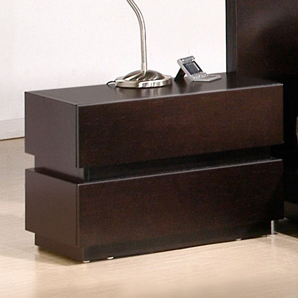 Ju0026M Furniture Knotch Nightstand U0026 Reviews | Wayfair