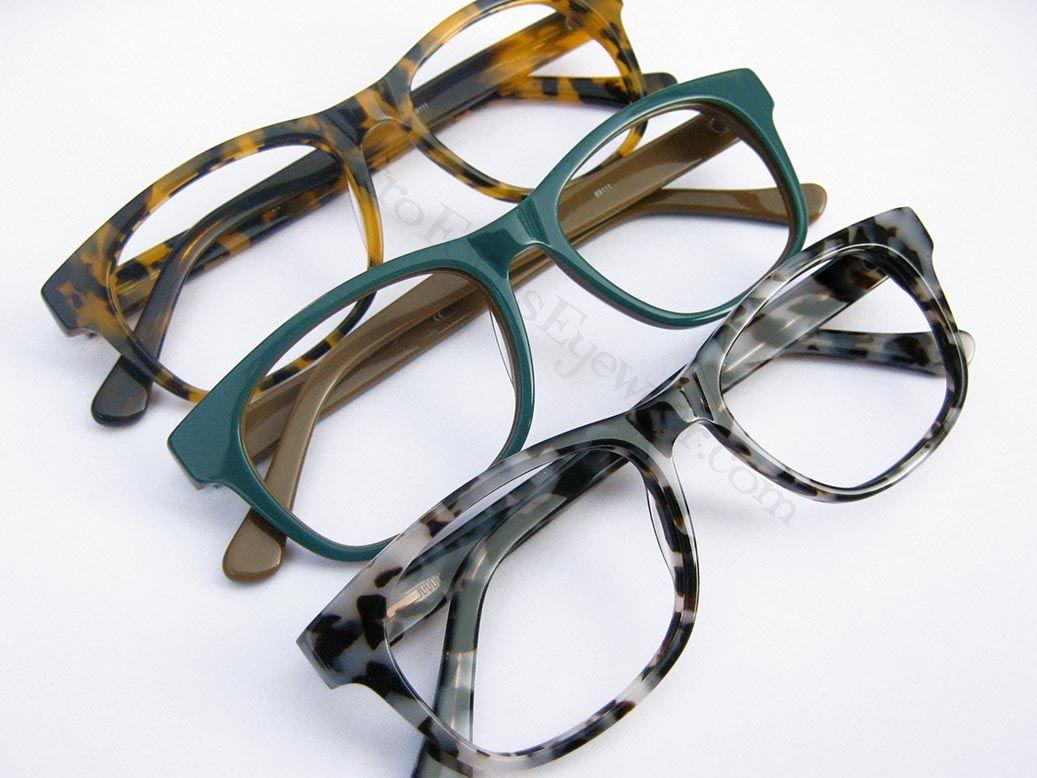 Nice Hornrimed Eyeglass frames in 50 something\' shades of Grey ...