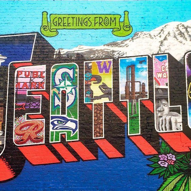 Happy weekend Seattle !  Happy weekend Seattle !