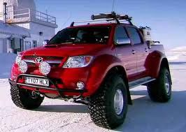 Custom Toyota Truck Made For North Pole Episode Of Top Gear