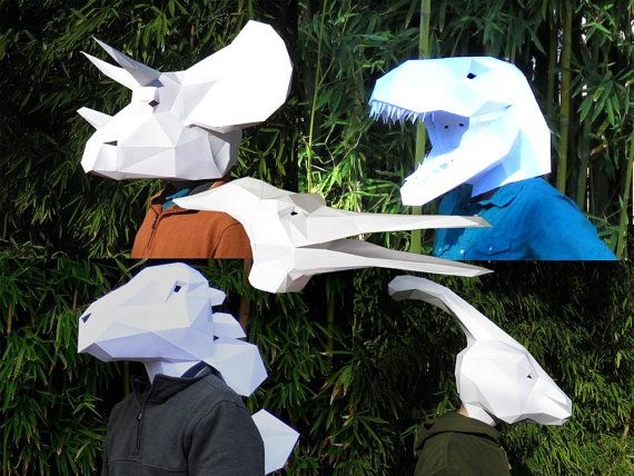 How to make a mask of a hare from a paper on a head: an easy way Toys with own hands, patterns, video, MK
