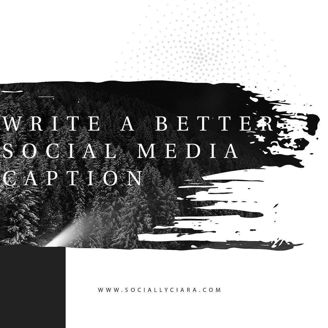 Quick tips for writing a better social media caption 1