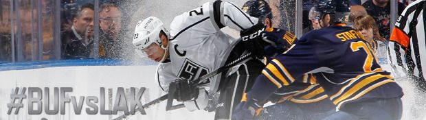 Road test for Kings begins tonight in Buffalo - Los Angeles Kings |  WESTERN NY: This is the second and final meeting with Buffalo this season, and the first and only at the First Niagara Center. The Kings beat the Sabres 2-0 at STAPLES Center on October 23. This is the first of a five-game road trip for the Kings. For the Sabres, they're kicking off a four-game home stand tonight. After starting the season with a 3-10-2 record, Buffalo has gone 6-3-0 in its previous nine games.