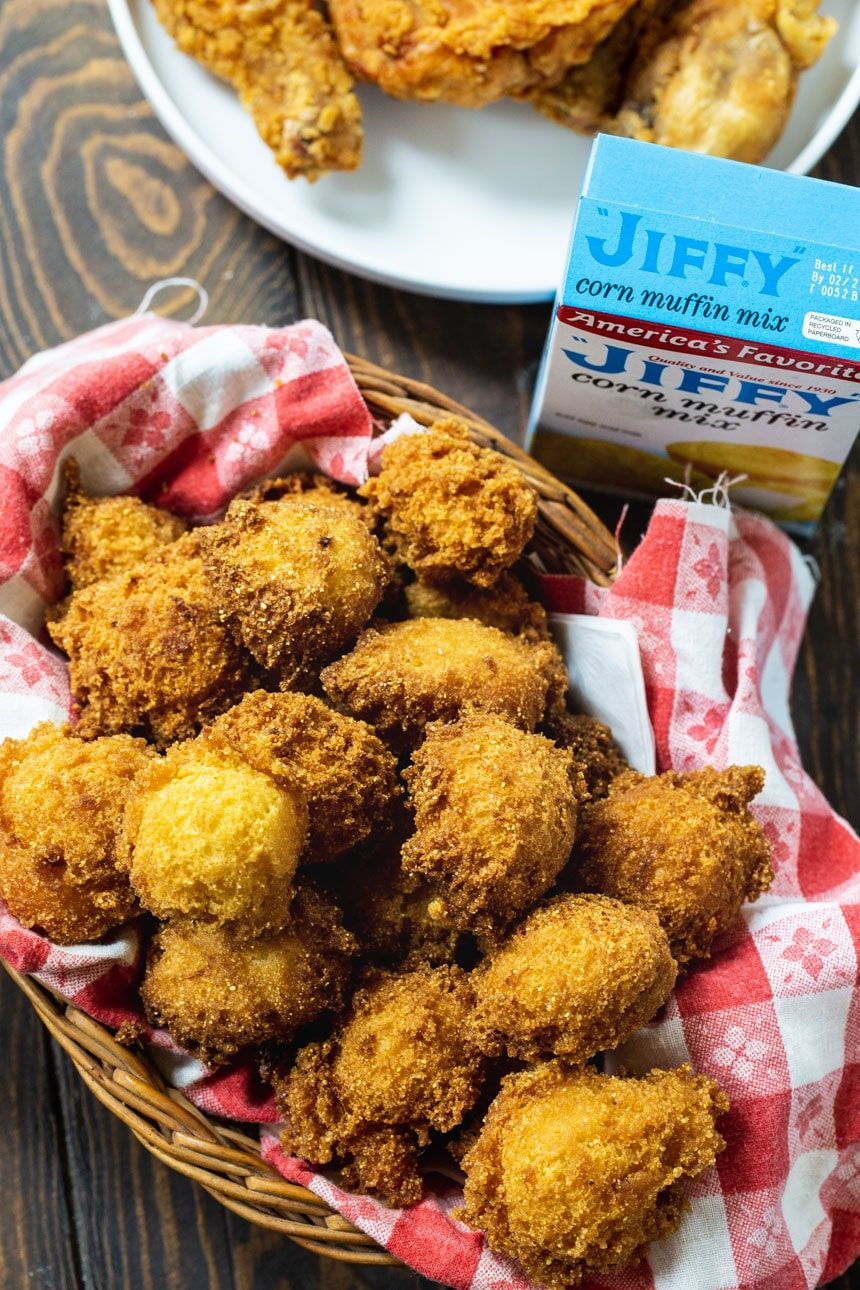 Jiffy Hush Puppies are wonderfully sweet with a super ...