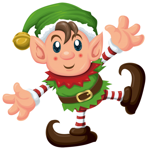 happy elf clipart - photo #25