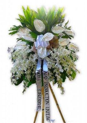 Funeral Flower Arrangement One Dozen White Anthuriums And 5 Dozen White Orchids Funeral Flowers Sympathy Flowers Flower Delivery
