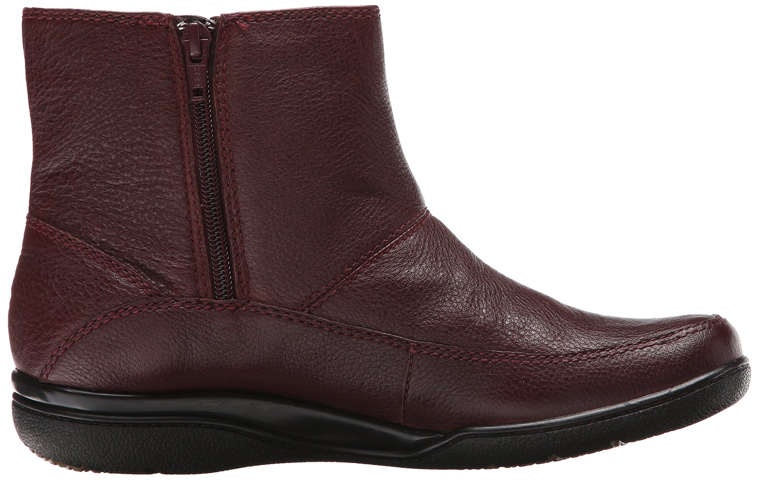 0b24f7c9 CLARKS Womens Kearns Flame Boot Burgundy Lined Leather 7 M US ** Visit the  image link more details. (This is an affiliate link and I receive a  commission ...