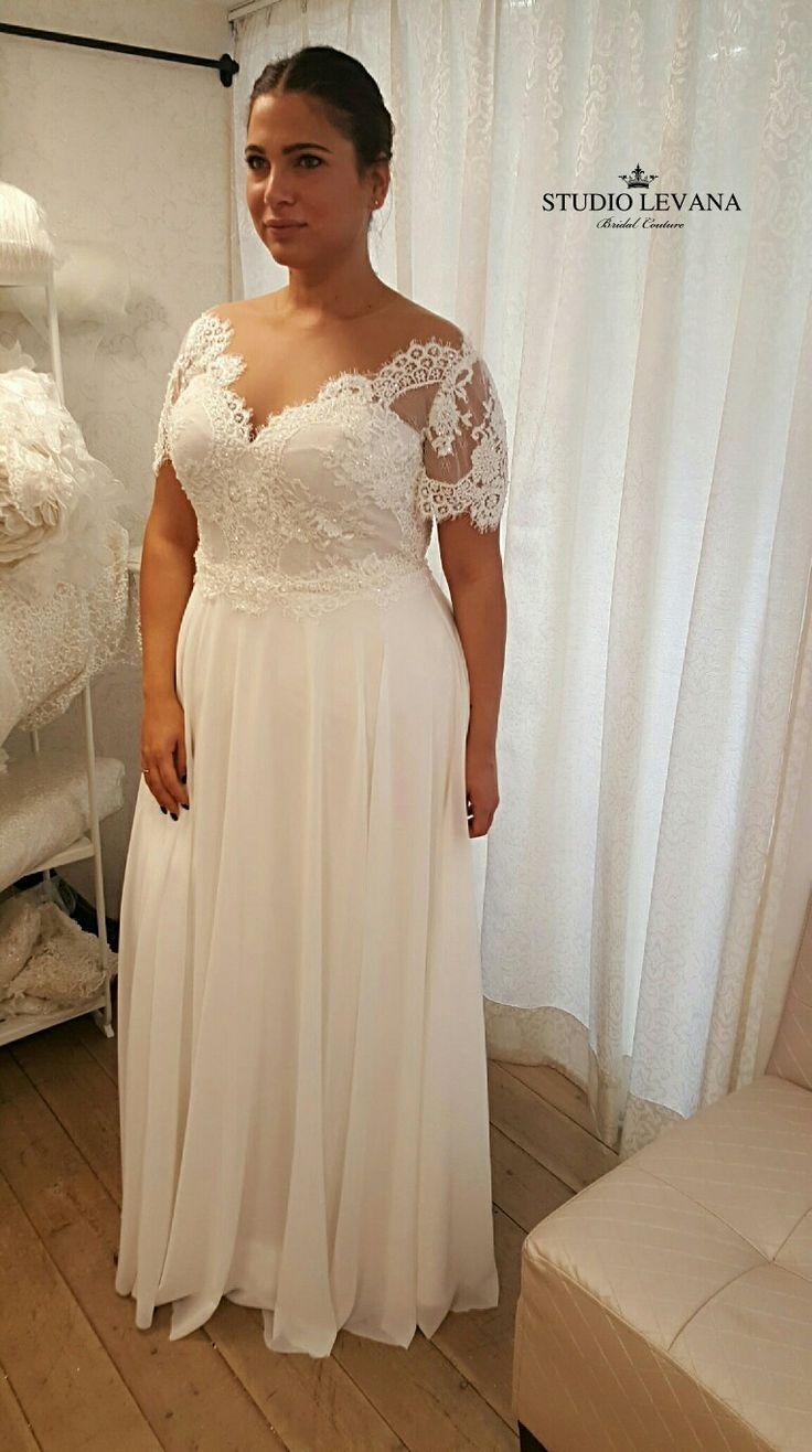 Dieses Vintage Boho Plussize Brautkleid ist verliebt brautkleid ...