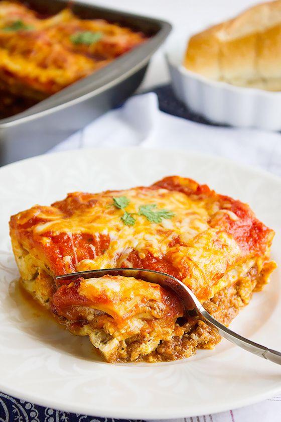 Basic Beef Lasagna Recipe With Homemade Lasagna Sheets Recipes Beef Lasagna Recipe Homemade Lasagna