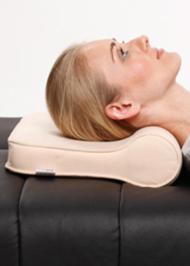 Cervical Pillows Place The Head And Neck In A Posture That