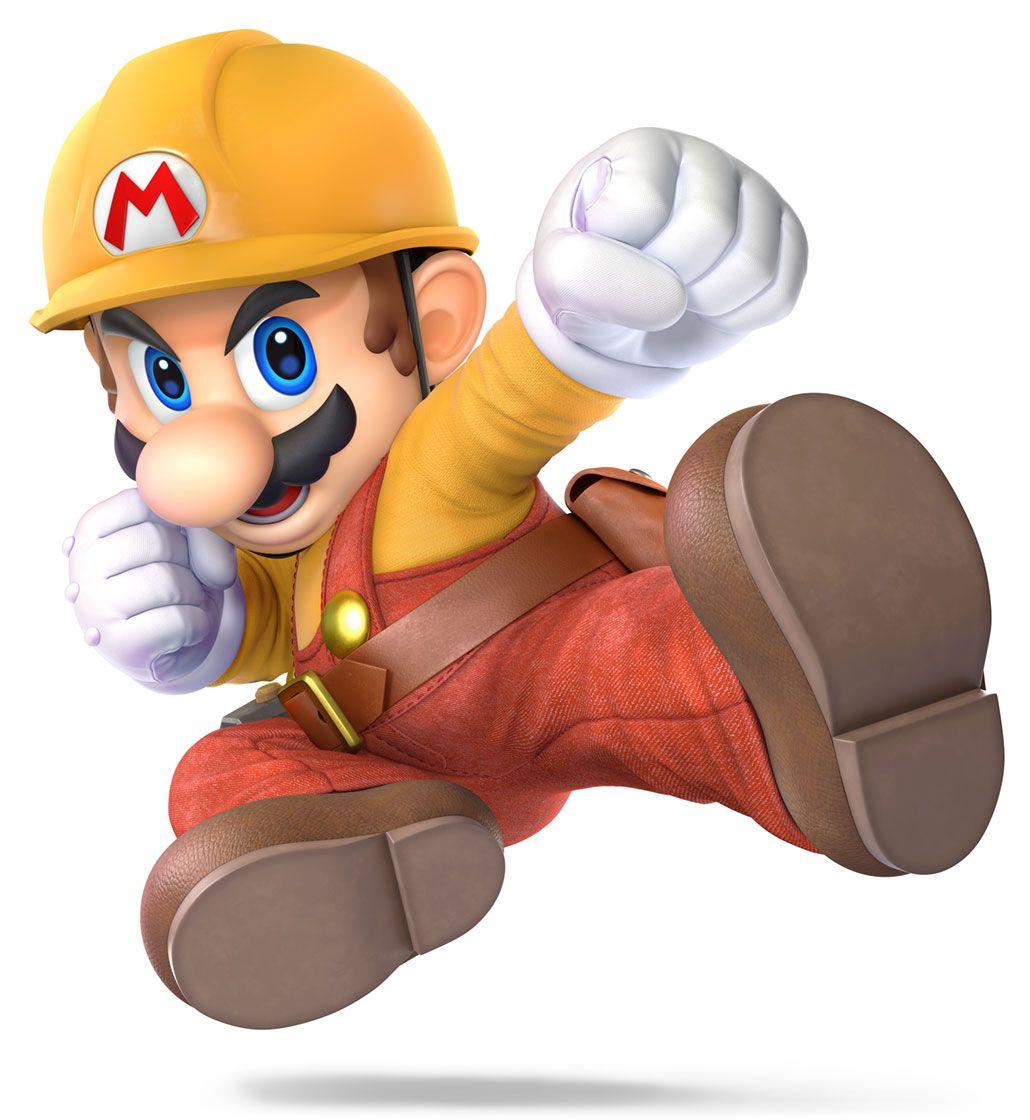 Builder Mario Artwork From Super Smash Bros Ultimate Art Artwork Gaming Videogames Gamer Gameart Super Smash Bros Characters Super Mario Art Smash Bros