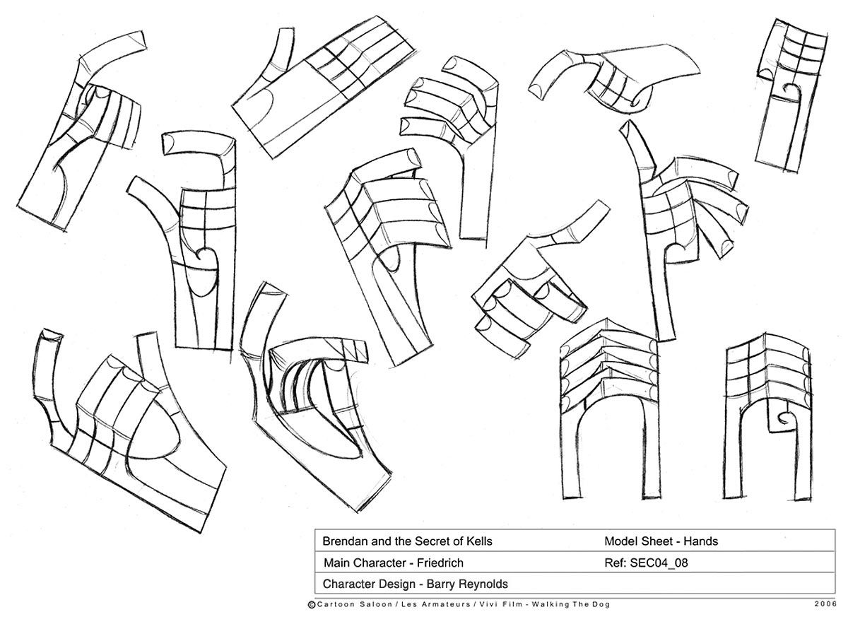 Secret Of Kells Concept Art  Google Search