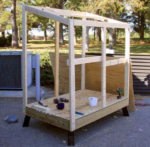 Deer Box Stand Brackets DIY 4 x 6 Custom Blind The