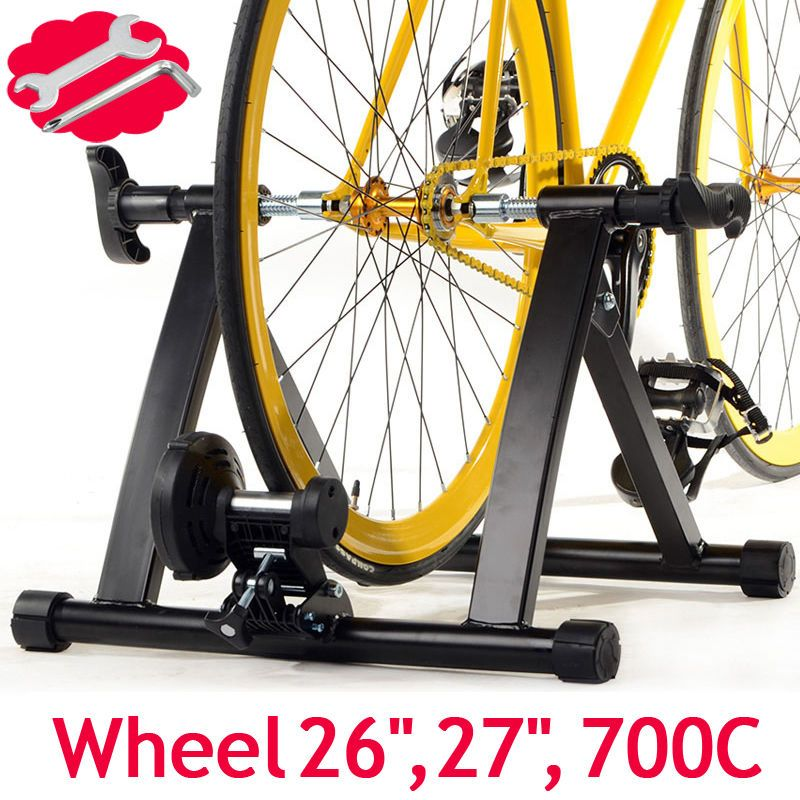 Details About Bicycle Trainer Stationary Magnetic Bike Cycle Stand